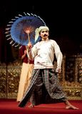 Myanmar-klassischer Tanz Lizenzfreies Stockfoto