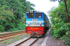 Myanmar Klasyczny pociąg zdjęcia royalty free