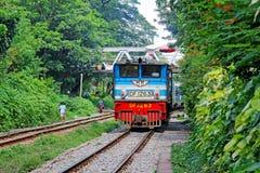 Myanmar Klasyczny pociąg zdjęcie stock