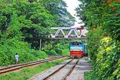 Myanmar Klasyczny pociąg zdjęcia stock