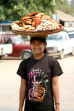 myanmar kobieta Zdjęcie Royalty Free