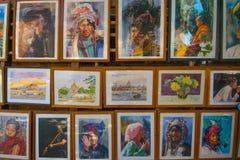 Myanmar Kunstwerk Stock Fotografie
