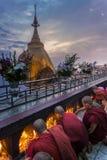 Myanmar, Kyaiktiyo - Zdjęcie Royalty Free