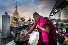 Myanmar - Kyaiktiyo Stock Photography