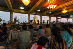 Myanmar - Kyaiktiyo Royalty Free Stock Images
