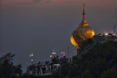 Myanmar - Kyaiktiyo Stock Photo