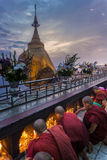 Myanmar - Kyaiktiyo Royalty Free Stock Photo