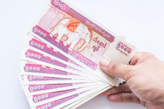 Myanmar kyat banknote Stock Photography