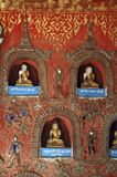Myanmar, lac Inle : Monastère de Shwe Yan Pyay images stock