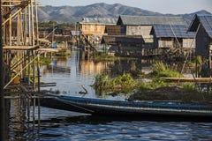 Myanmar,  the lake Royalty Free Stock Images
