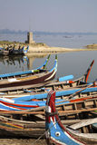 Myanmar.  the lake Stock Photo