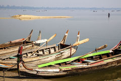 Myanmar.  the lake Stock Images