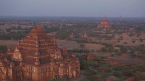 Myanmar Landmark. A landmark at Bagan, an ancient city in central Myanmar stock video footage