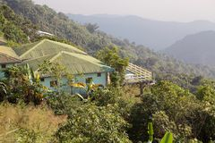 Myanmar landschap Stock Afbeeldingen