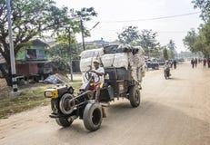 Myanmar lastbil Royaltyfria Foton