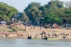 Myanmar life Royalty Free Stock Images