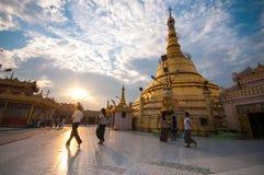 Myanmar life Stock Image