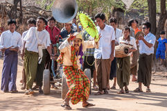 Myanmar liv Royaltyfria Bilder