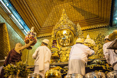 Myanmar liv Fotografering för Bildbyråer