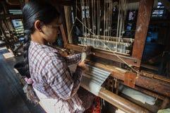 Myanmar local handicraft Stock Image