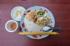 Myanmar local noodle Royalty Free Stock Photography