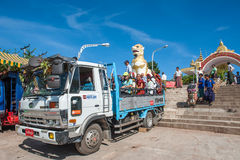 Myanmar lopp Arkivfoton