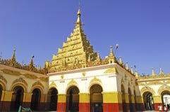 Myanmar, Mandalay: Mahamuni pagoda Royalty Free Stock Image