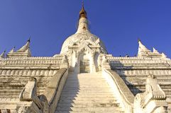 Myanmar, Mandalay: Pagoda Stock Images
