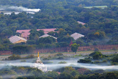 Myanmar mandalay sunset Royalty Free Stock Image