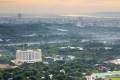 Myanmar mandalay sunset Royalty Free Stock Photos