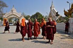 Myanmar Mandalay. Travel through historical places in Myanmar / Birma stock images