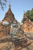 Myanmar Mandalay Yadana Hsemee pagoda complex stock image