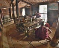 Myanmar Mandalay Yadana Hsemee pagoda Monastery royalty free stock photography