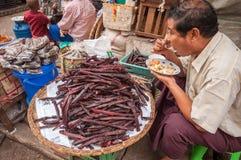 Myanmar market Stock Images