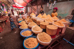 Myanmar market Royalty Free Stock Photography