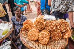 Myanmar market Stock Photo