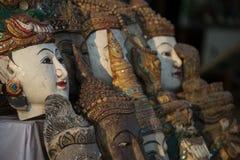 Myanmar mask Stock Image