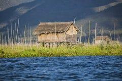 Myanmar, Meer Inle Royalty-vrije Stock Afbeeldingen
