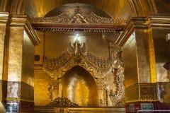 Myanmar monastery gold Royalty Free Stock Image
