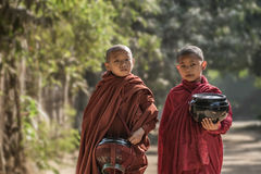 Myanmar monk Royalty Free Stock Images
