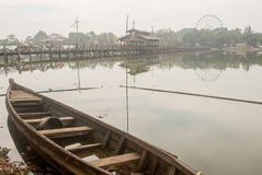 Myanmar most Zdjęcia Royalty Free