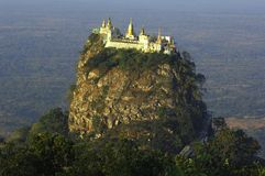 Myanmar, Mount Popa Stock Photos