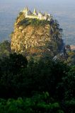 Myanmar, Mount Popa Royalty Free Stock Photos