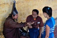 Myanmar Mount Popa. Travel through historical places in Myanmar / Birma royalty free stock photography