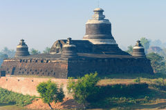 Myanmar, Mrauk U - Dukkanthein Paya Stock Photography