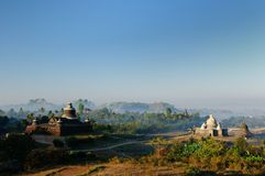 Myanmar, Mrauk U - Dukkanthein Paya Stock Photos