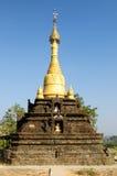 Myanmar, Mrauk U - Haridaung temple Royalty Free Stock Images