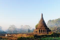 Myanmar, Mrauk U temple,Htuparyon Paya royalty free stock image