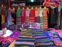 Myanmar odzież Obraz Stock
