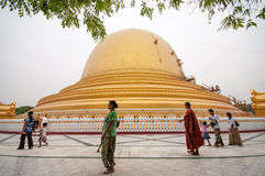 Myanmar Pagoda Royalty Free Stock Photography